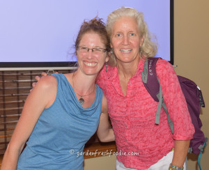 Jane Esselstyn and Jess Altman From Garden Fresh Foodie