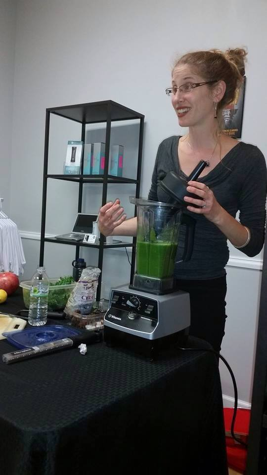 green smoothie demo