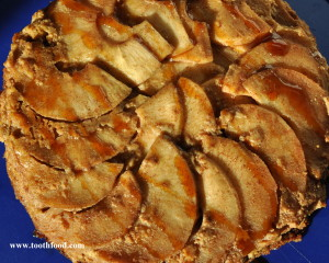 Gluten Free Apple Spice Cake Drizzled With Honey