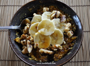 Pumpkin Quinoa Hot Cereal
