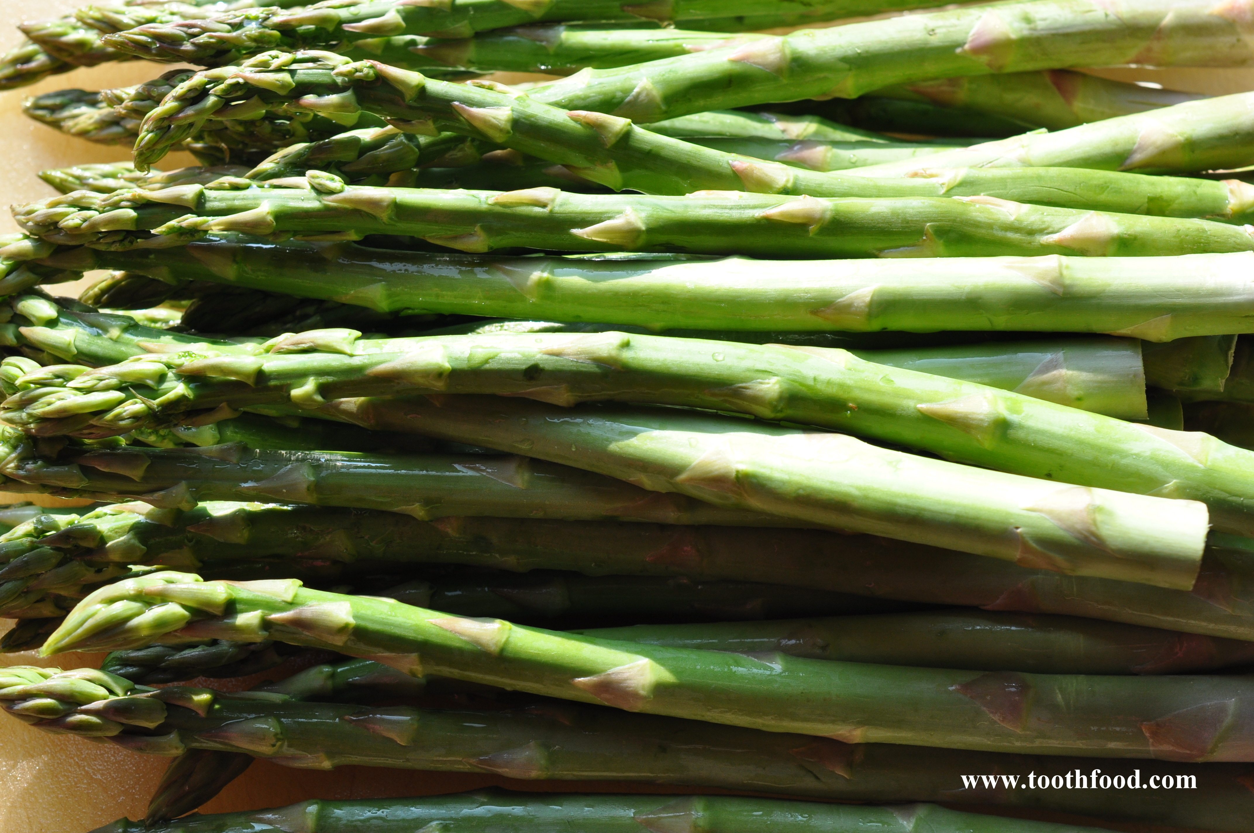 how to cook fresh asparagus from the garden