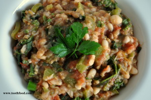 White Bean Ragu Bowl