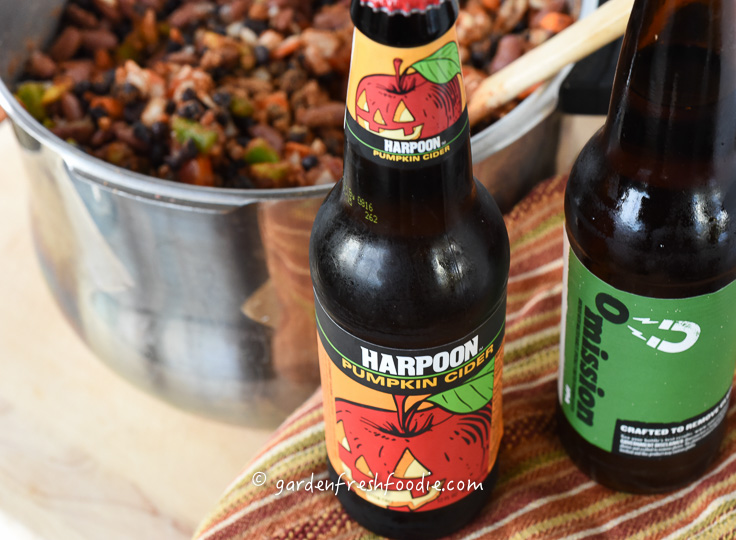Adding a Little Hard Cider To Veggie Chili