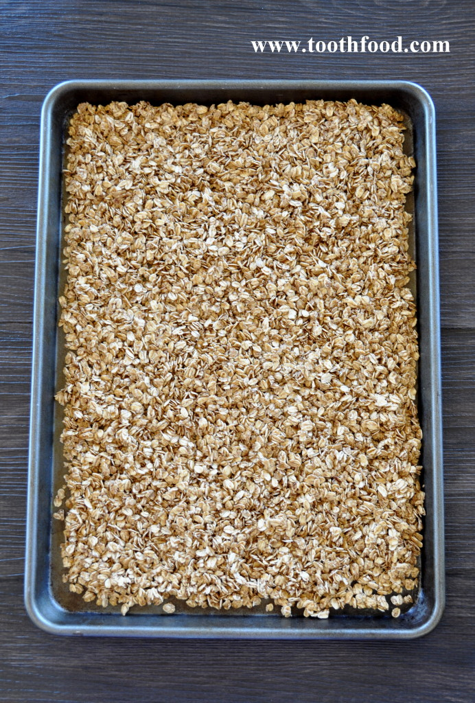 Baking Maple Granola