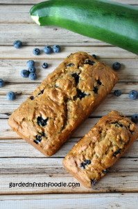 Blueberry Zucchini Breads