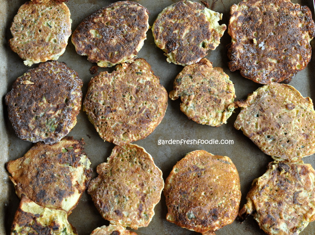 Reheating Zucchini Patties