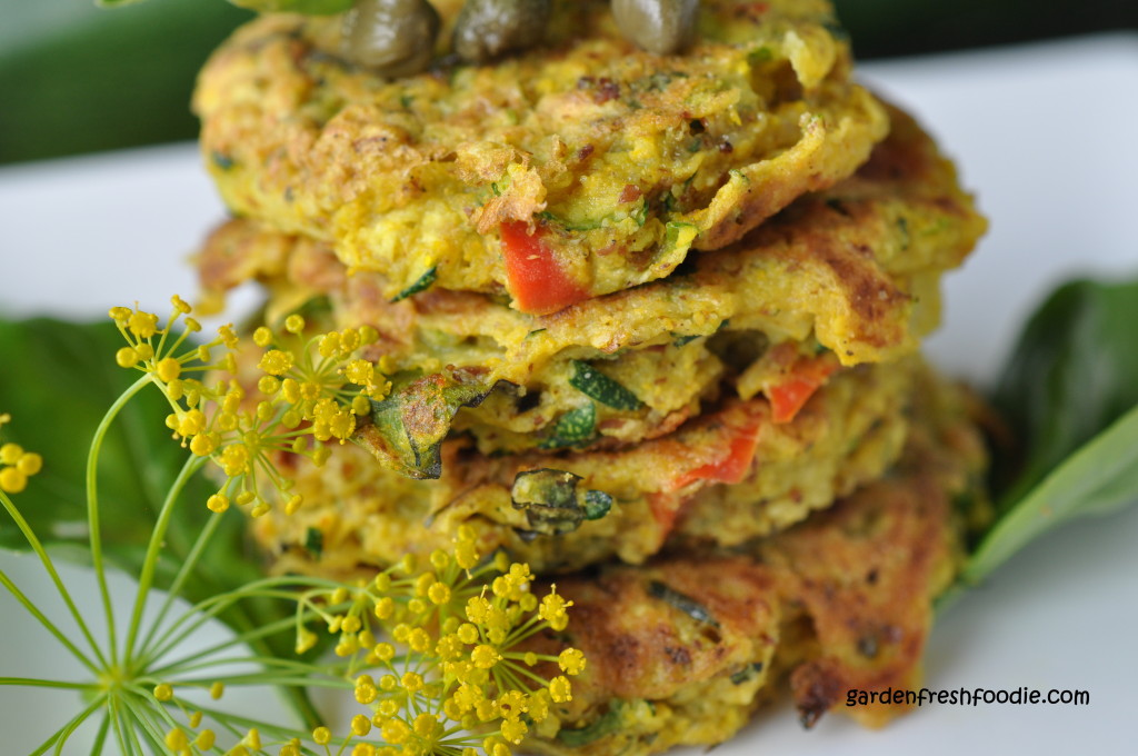 Upclose Vegan Zucchini Patties