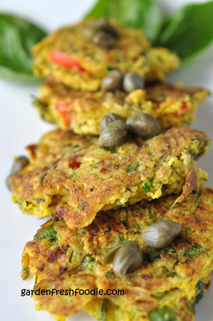 Vegan Zucchini Patties