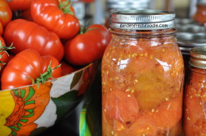 Canned Organic Tomatoes