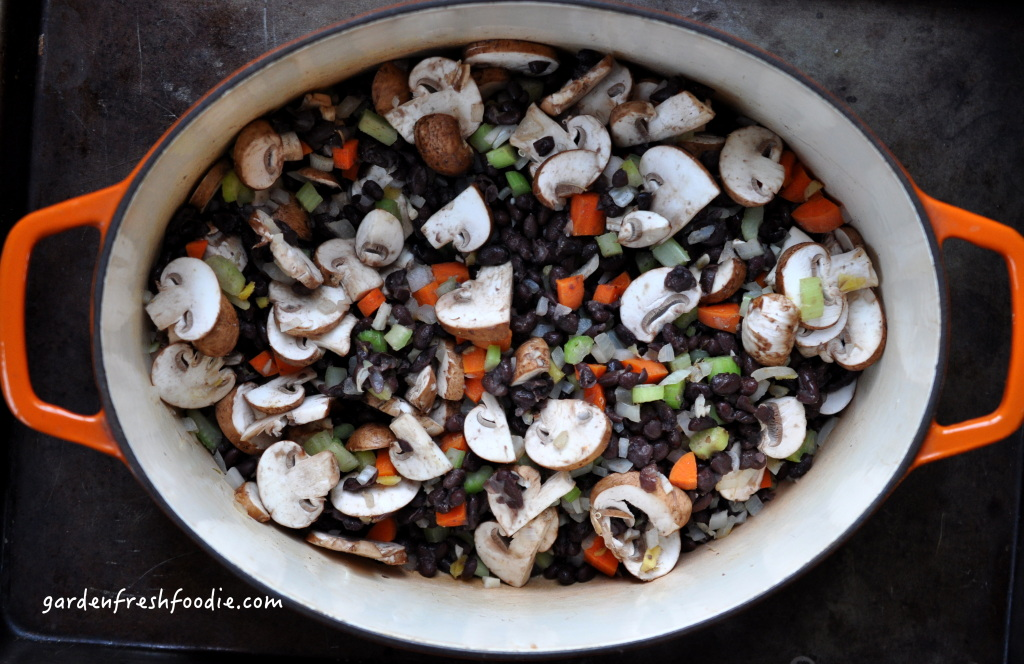 Mushroom Black Bean Soup Base