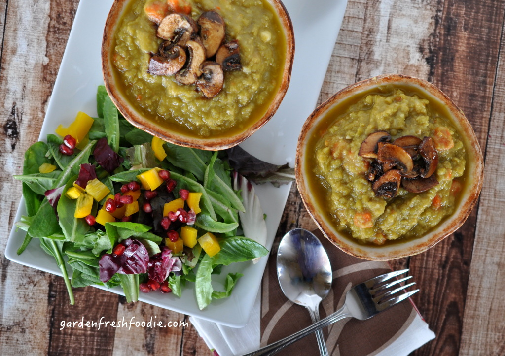 Split Pea Soup And Salad