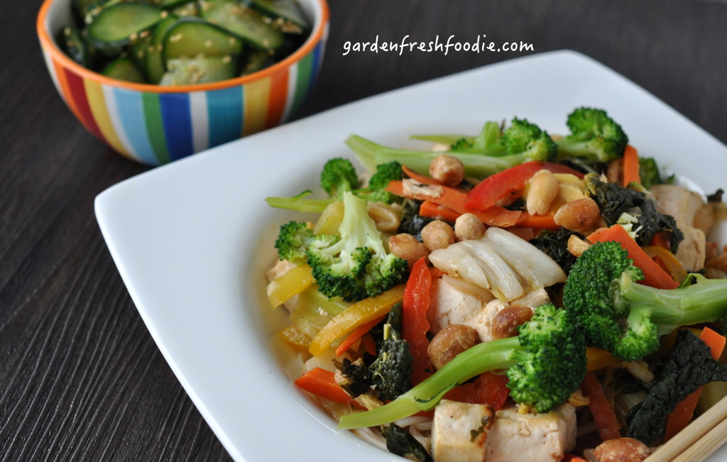 Ginger Stir Fry Up Close