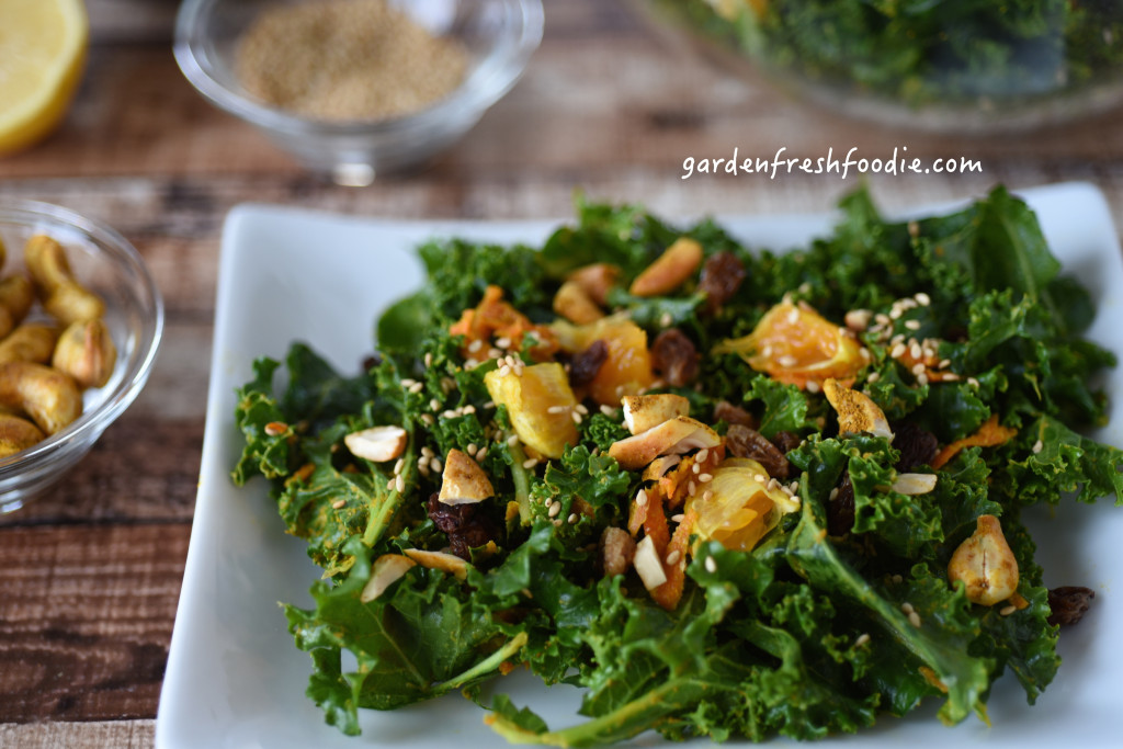 Moroccan Kale Salad and Toppings copy