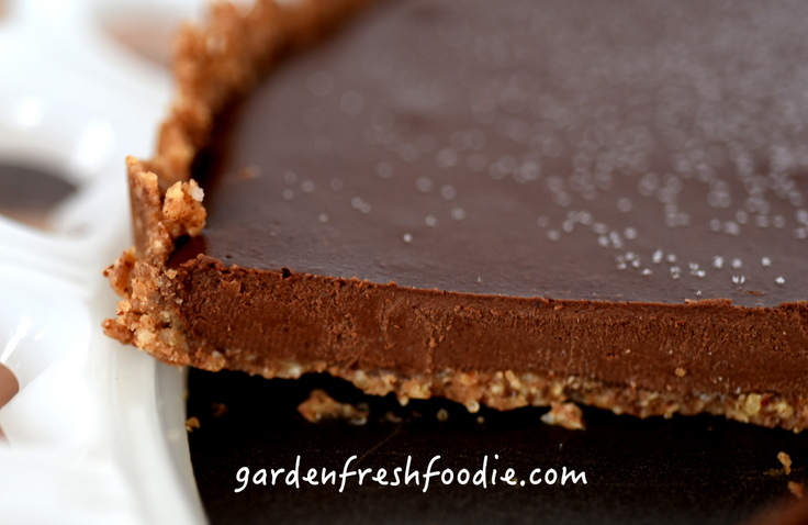 Chocolate Ganache Torte Side View