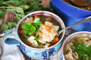 Bowls of Cabbage Soup