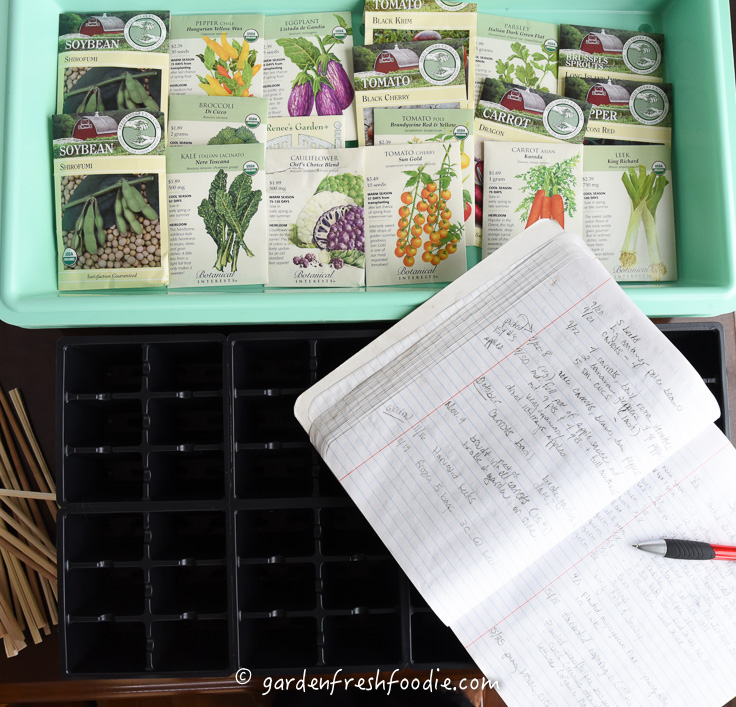 Keep a Gardening Journal