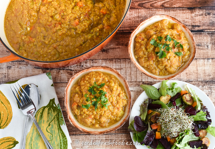 Serving Up Spicy Red Lentil Soup