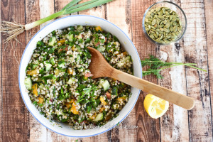 Buckwheat Tabbouleh With Pumpkin Seeds