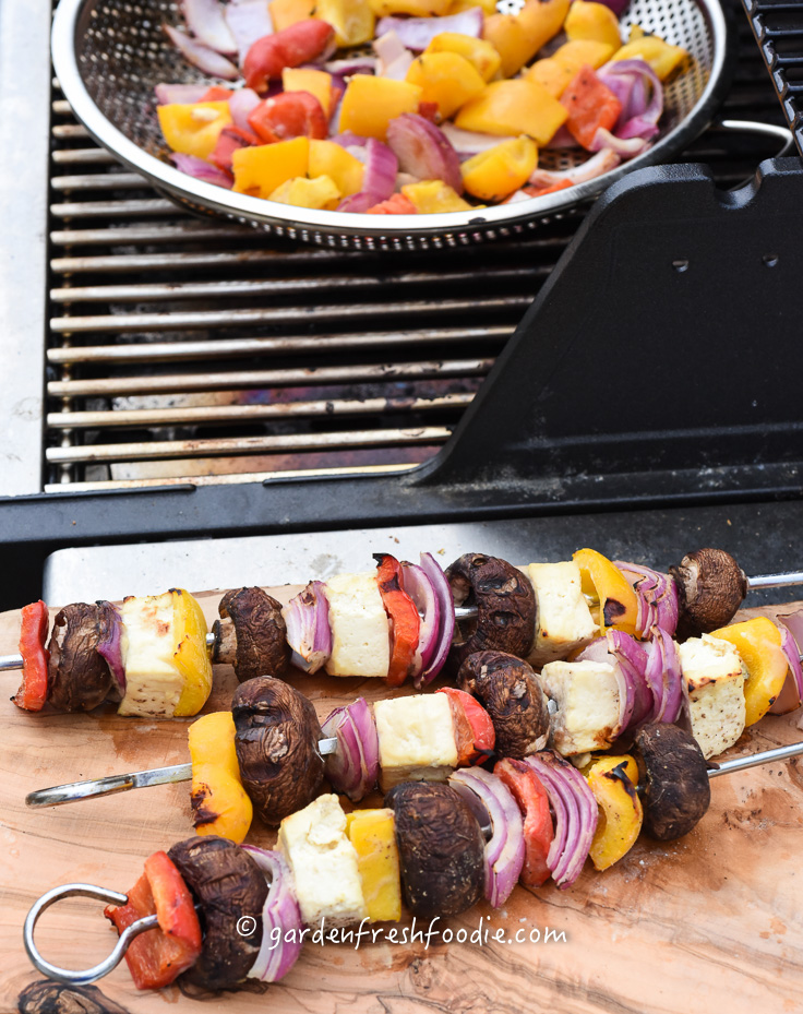 Cooking Miso Tofu Shish Kebabs