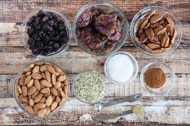 Date Nut Bite Mise En Place