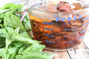 Soaking Sun-dried Tomatoes