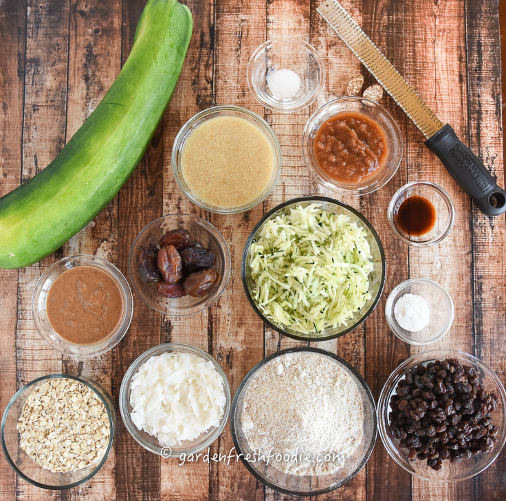 Mise En Place Zucchini Breakfast Bars