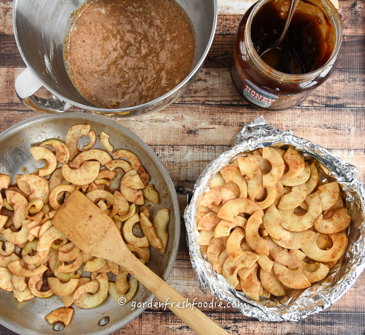 Building Plant-Based Apple Spice Cake