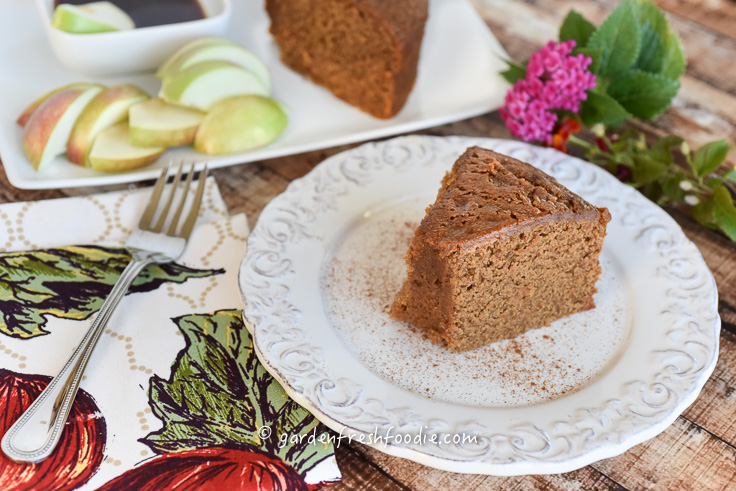 Slice of Plant-Based Honey Cake