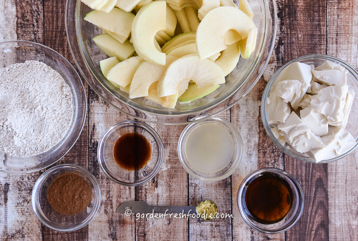 Apple Pancake Mise En Place