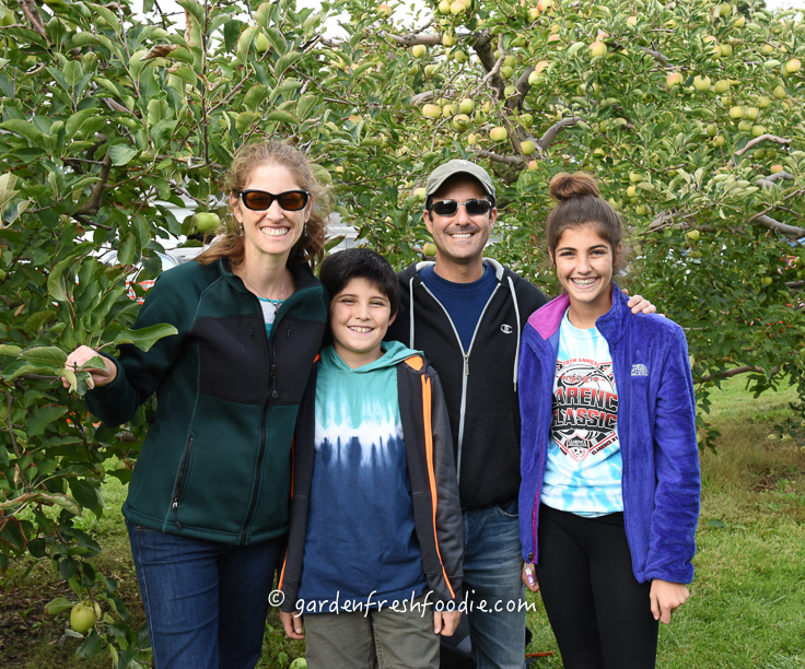 Garden Fresh Foodie Apple Picking