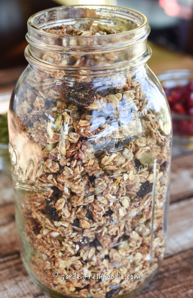 Quart of Tahini Ginger Granola