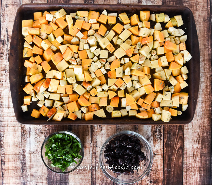 Pre-Cooked Sage Roasted Winter Veggies