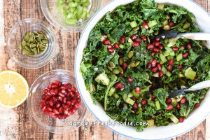 Prepared Massaged WInter Kale Salad