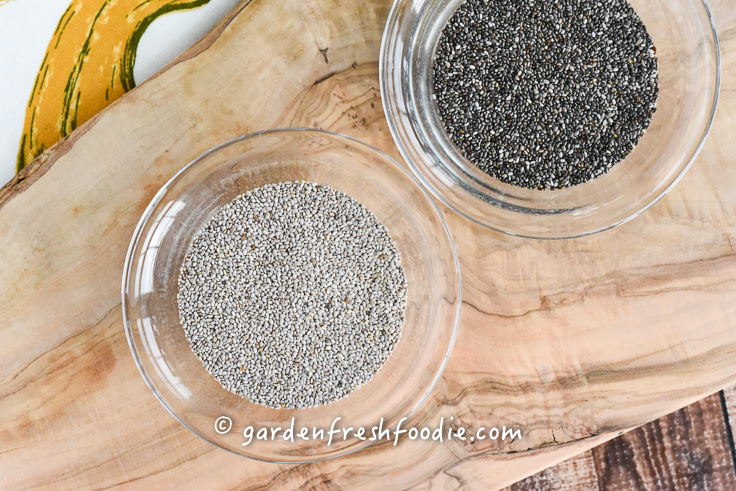 Black and White Chia Seed