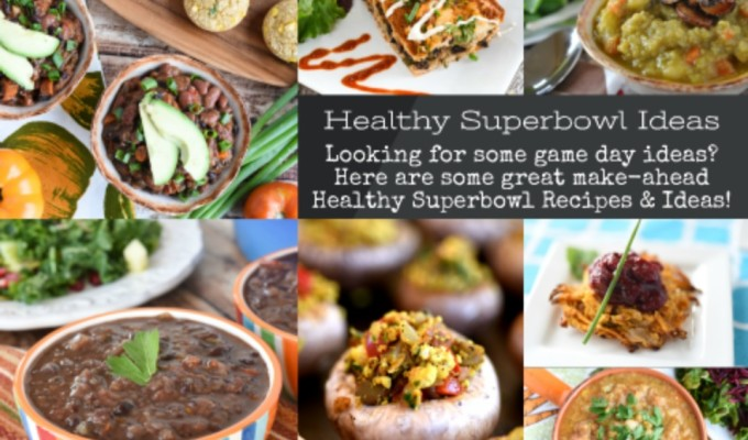 Healthy Superbowl Ideas