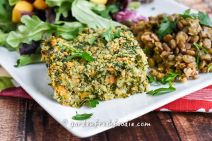 Quinoa Kale Crustless Quiche