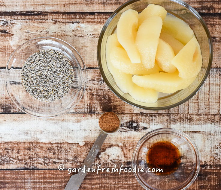 Mise En Place Pear Whipped Topping