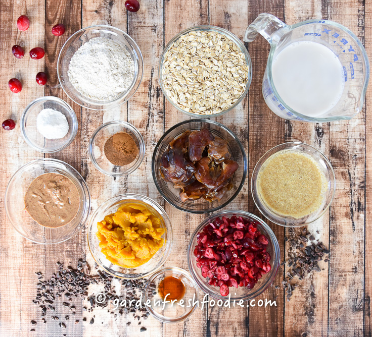 Mise En Place Pumpkin Cranberry Bars
