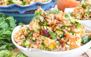Harvest Buckwheat Salad With Apple Cider Dressing