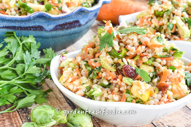 Bowls of Harvest Buckwheat Salad
